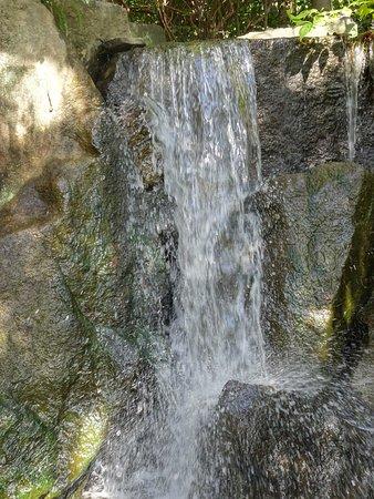 Hayama-machi, Japón: 庭園の滝