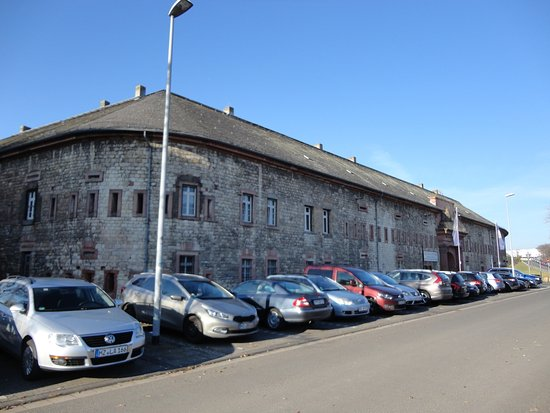 Mainz-Kastel, Deutschland: 歴史的な建物をそのまま利用しているミュージアム