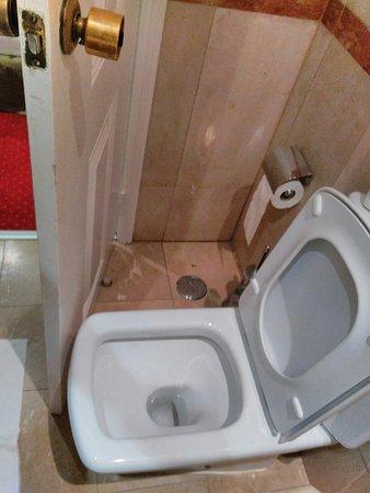 Bagno piccolo, la porta sbatte sul vater - Picture of Hotel Dom ...