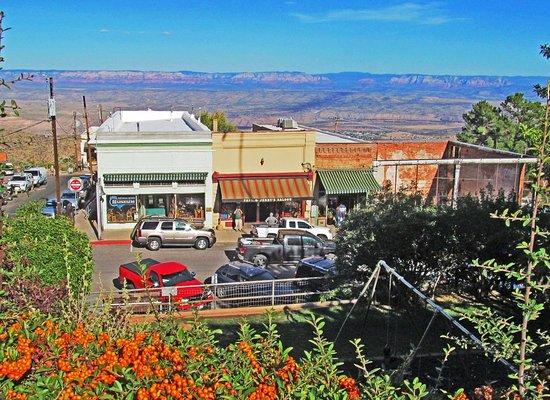 Jerome, AZ: City on a hill.