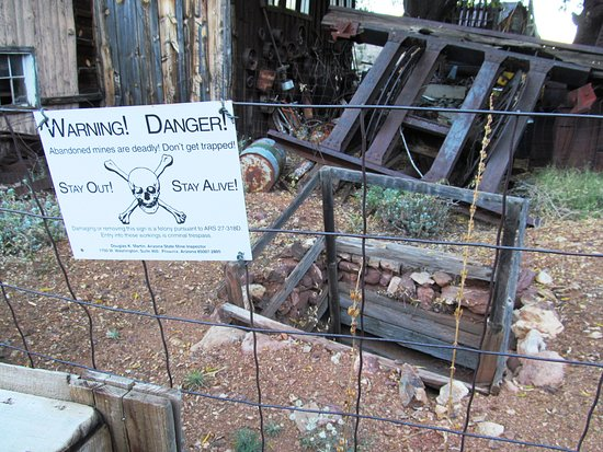 Jerome, AZ : Mine Shaft