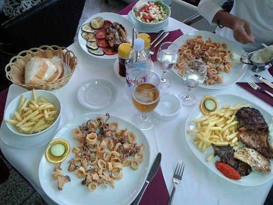 Restaurant IVA: PRESENTAZIONE CIBO