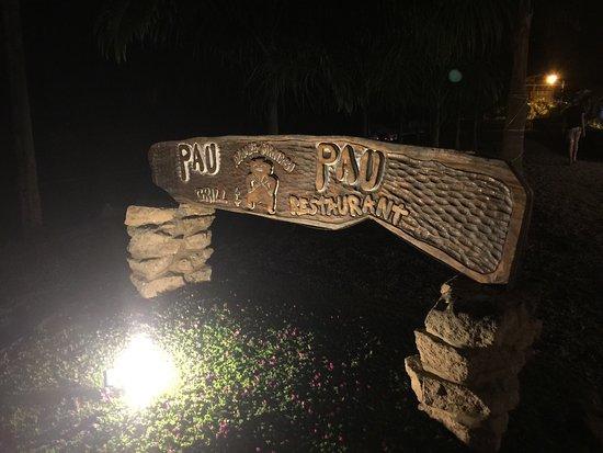 Ayampe, Ecuador: Pau Pau Grill & Bar