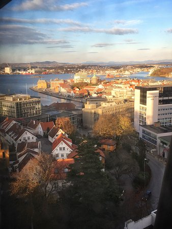 Clarion Hotel Stavanger: The view from my room on the 14th floor! Can't get much better!!!