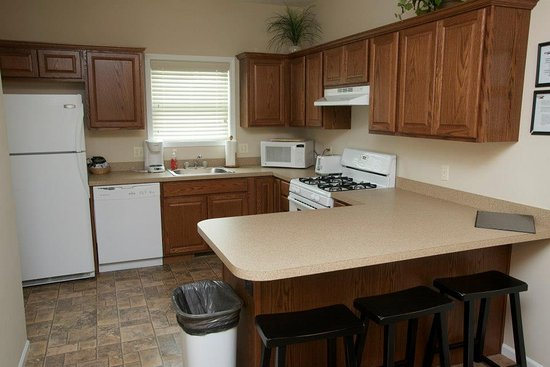 Gaylord, MI: Kitchen - Loon Townhome