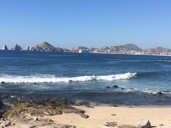 Misiones del Cabo: surfing beach