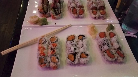Bayside, Nova York: The sushi at Tanko