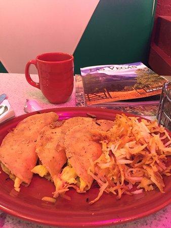 Las Vegas, Nuevo Mexico: Breakfast tacos! Excellent