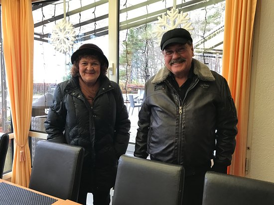 Uetliberg, Schweiz: Marlyse und Peter