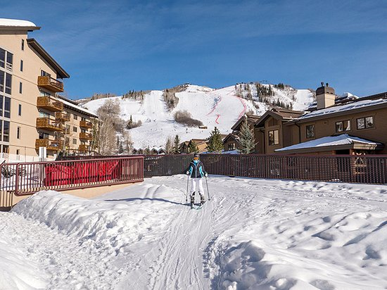 Kutuk Condominiums by Steamboat Springs: Skier Access from Slopes to Kutuk