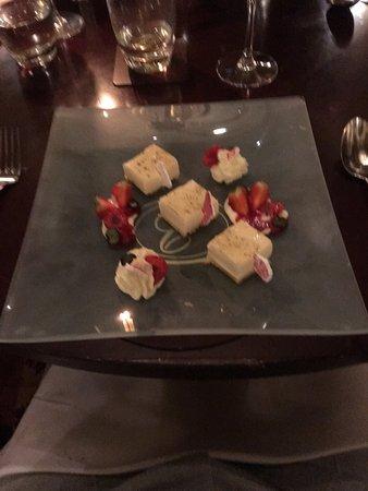 Sutherland Restaurant: Flavours of lemon and meringue