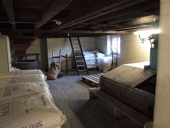 Hook Norton, UK: Storage room in the old mill