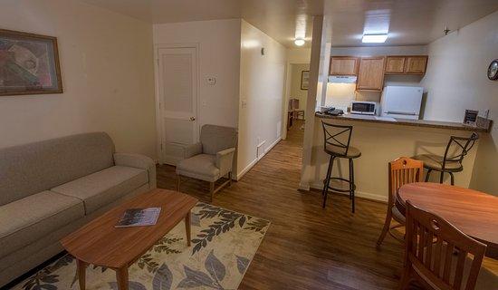 Christiansburg, Βιρτζίνια: Living Room - Suite