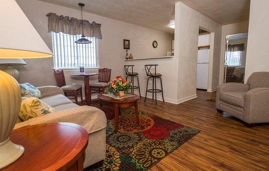 Christiansburg, Βιρτζίνια: Living Room