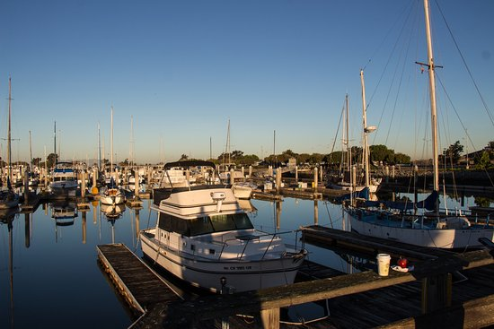 San Leandro, Καλιφόρνια: Marina...on our morning walk.