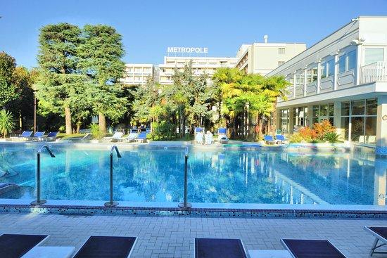 Abano Terme, Italien: weitere Schwimmbecken Thermalwasser