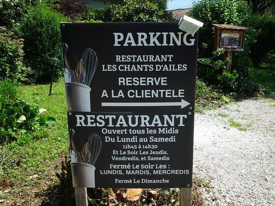 Saint-Etienne-de-Saint-Geoirs, France: Nos jours d'ouvertures