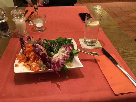 Hotel Busch Atter: Salad from the salad bar
