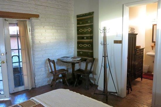 Algodones, NM: Original floors-- very picturesque