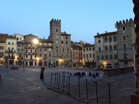 Arezzo, Italia: Piazza Grande