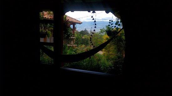 Renacer Hostal: hermosa vista