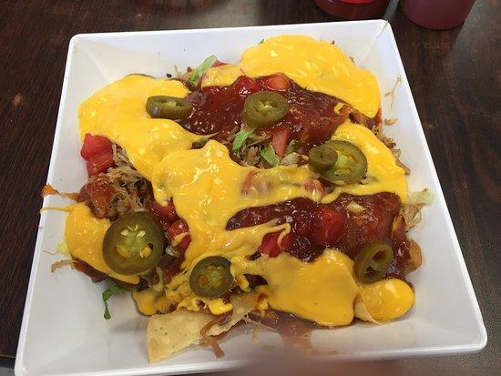 Batesville, MS : BBQ nachos