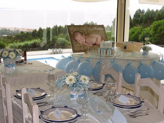 Décoration Baptême - Picture of Casa Pinha, Figueira da Foz ... on