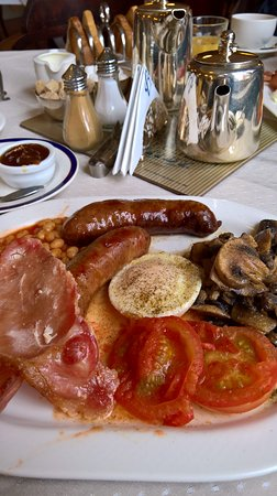 a Full breakfast - well worth getting up for