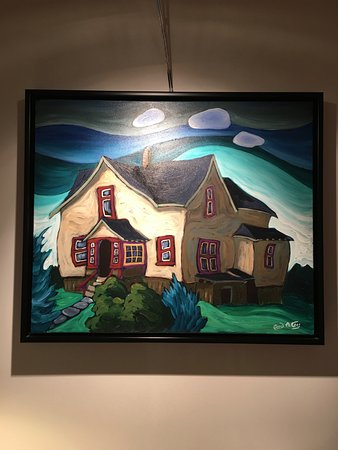 Wickaninnish Inn and The Pointe Restaurant: Artwork in the room