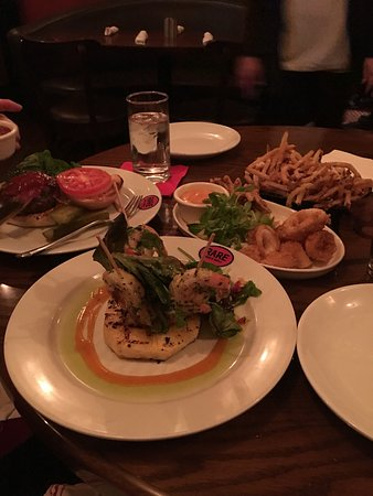 Delicious food picture of rare bar grill new york for Bar food yummy
