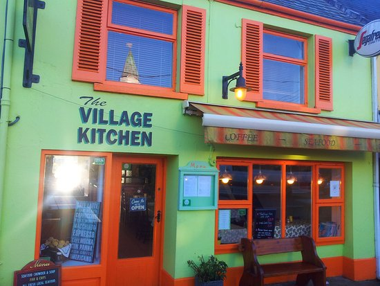 The Village Kitchen: A Colourful Addition To A Colourful Village