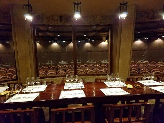 Agrelo, Arjantin: Private wine tasting room