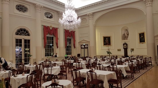 The Pump Room dining, not part of the Torchlight dining package ...