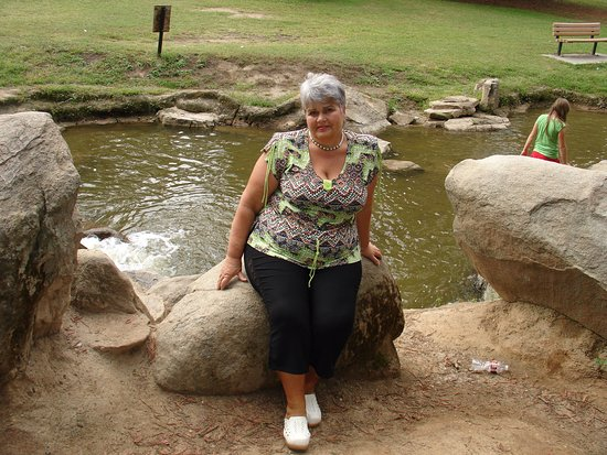 Woodward Regional Park : Отдых на камешке
