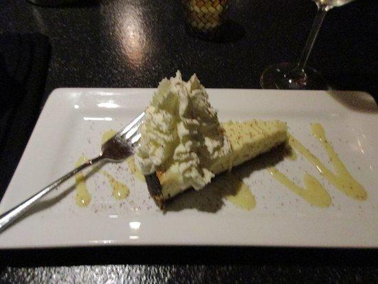 Parrsboro, Kanada: Dessert - Cheesecake...Mmmm