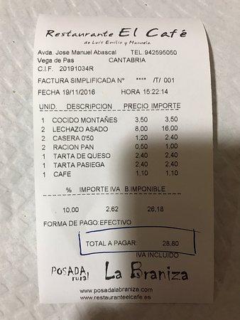 Photo3 Jpg Picture Of Restaurante El Cafe Vega De Pas Tripadvisor