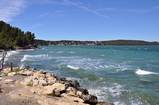 Istres, Fransa: Ветер, волны