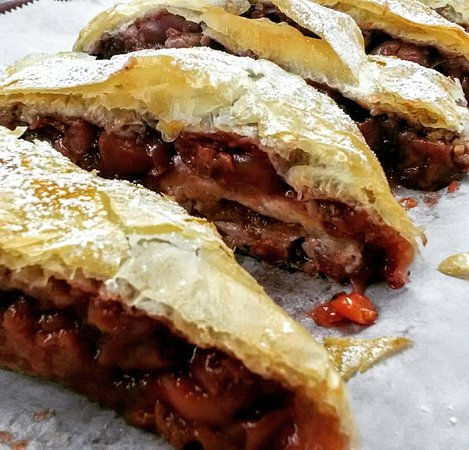 DeBary, FL: We make Strudel with different fillings. Have a slice or order a whole one for any event!