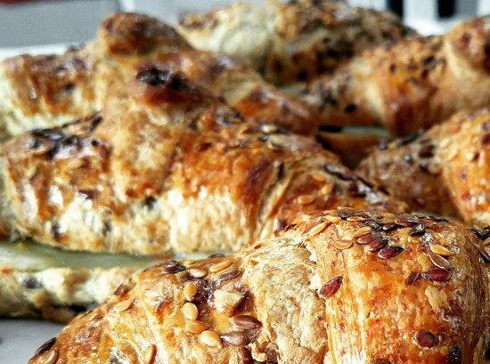 DeBary, FL: Multigrain Croissant with spicy cheese