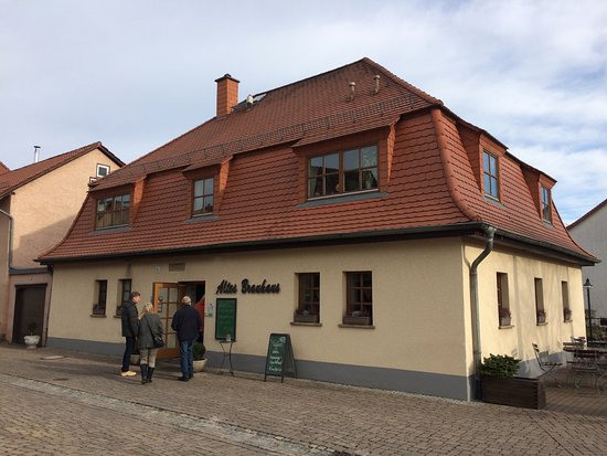 The frontage of the Altes Brauhaus