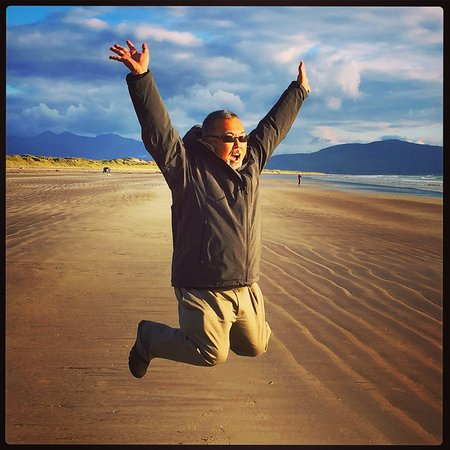 Inch, Irlandia: Jumping for joy