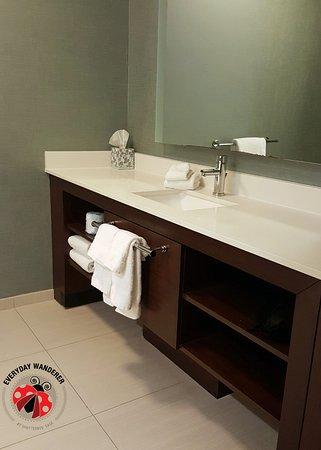 Bathroom Mirrors Kansas City bathroom mirror erosion - picture of residence inn kansas city at
