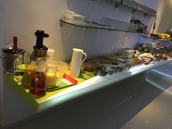 هوتل كريستينا: Perfect breakfast