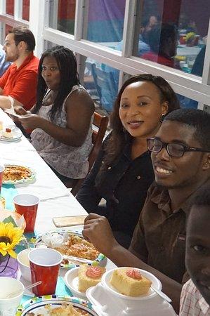 New Castle, Невис: BLACK STUDENTS ASSN DINNER 14/11/16