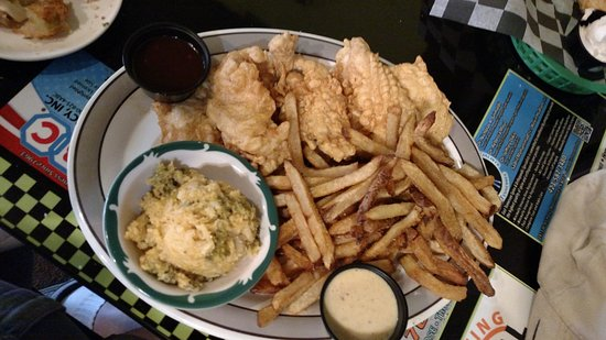 Mooresburg, TN : Chicken fingers and hand cut fries.......