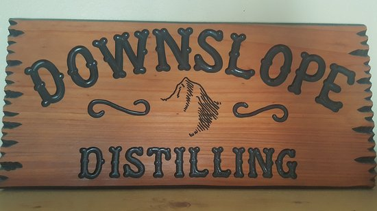Centennial, CO: Wood cut and burn Downslope Distilling