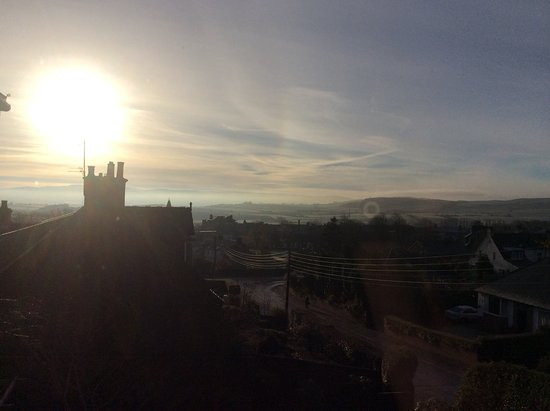 Maybole, UK: Another beautiful morning viewed from the Glasgow Room