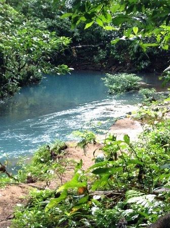 Tenorio Volcano National Park, Costa Rica: Rio Celeste Lagunas Azul