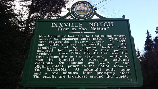 Dixville, Nueva Hampshire: All about the view.