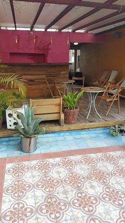 Cuauhtemoc, Mexico: Rooftop bar/terrace
